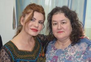 Camelia Radulian alături de Daniela Ursu