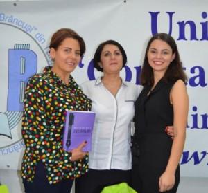 Alături de Reli Sanda şi Cristina Boncea