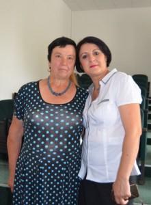 Alături de Maria Piţigoi