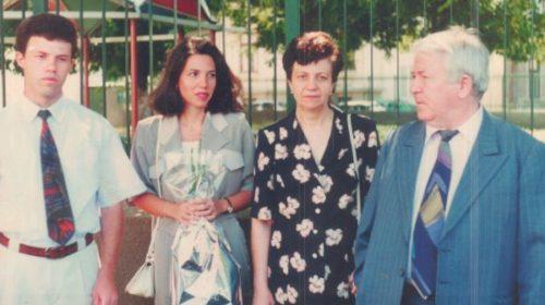 Cu soția Lucia si copiii Adriana și Aurelian
